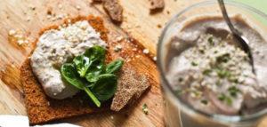 Рецепт пасты для бутербродов из тофу, паста из тофу, намазка из тофу
