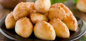 Рецепт пирожков с тофу и грибами