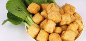 Рецепт тофу, жареного в кляре